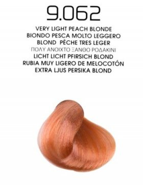 9.062 Very Light Peach Blonde